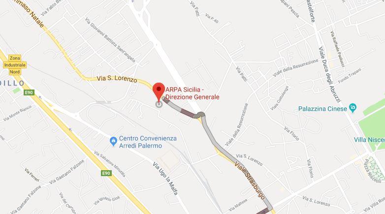 mappa google DG